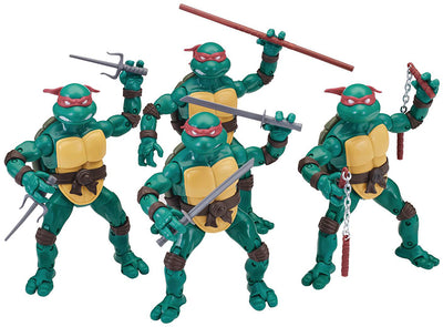 Teenage Mutant Ninja Turtles 6 Inch Action Figure Elite Series Exclusive - Set of 4