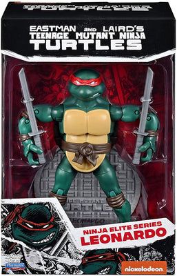Teenage Mutant Ninja Turtles Original Comic Book 6 Inch Action Figure Ninja Elite Series 1 - Leonardo