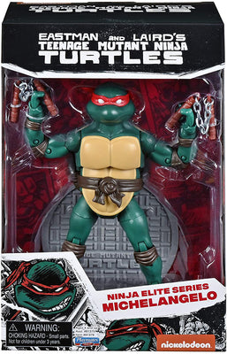 Teenage Mutant Ninja Turtles Original Comic Book 6 Inch Action Figure Ninja Elite Series 1 - Michelangelo