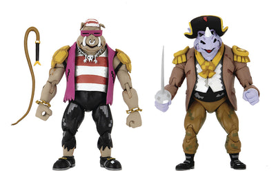Teenage Mutant Ninja Turtles Turtles In Time 6 Inch Action Figure 2-Pack - Pirate Bebop & Rocksteady