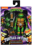 Teenage Mutant Ninja Turtles 6 Inch Action Figure Turtles In Time Series 2 - Michelangelo