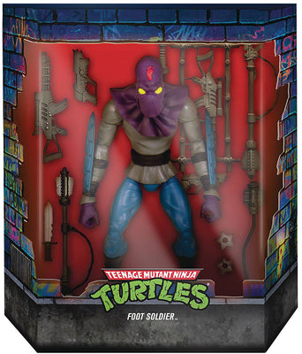 Teenage Mutant Ninja Turtles 7 Inch Action Figure Ultimates Wave 1 - Foot Soldier