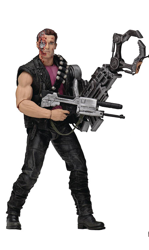 Terminator Kenner Tribute 7 Inch Action Figure Series 1 - Power Arm T-800