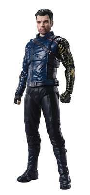 The Falcon and The Winter Soldier 6 Inch Action Figure S.H. Figuarts - Bucky Barnes