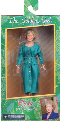 The Golden Girls 7 Inch Action Figure Retro Clothed Series - Rose