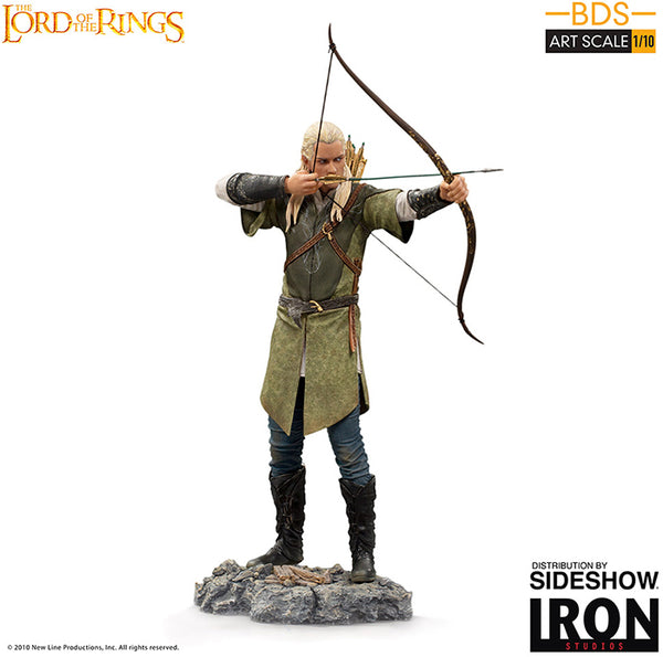 The Lord of the Rings 9 Inch Statue Figure 1:10 Art Scale - Legolas Iron Studios 906283
