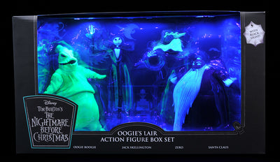 The Nightmare Before Christmas Deluxe Box Set 7 Inch Action Figure SDCC 2020 Exclusive - Oogie's Lair