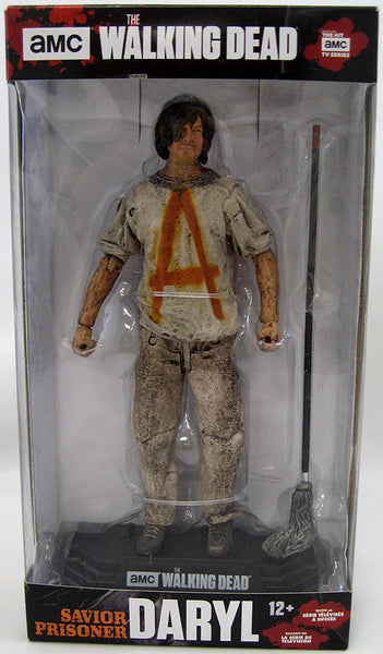 The Walking Dead TV 7 Inch Action Figure Color Tops Series - Savior Prisoner Daryl #38 (Shelf Wear Packaging)