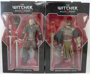 The Witcher 3 Wild Hunt 7 Inch Action Figure Wave 1 - Set of 2