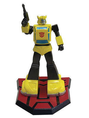 Transformers Animated 9 Inch Statue Figure 1/8 Scale PVC - Bumblebee