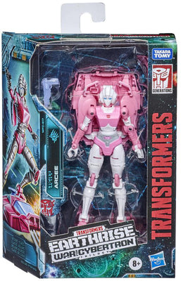 Transformers Earthrise War For Cybertron 6 Inch Action Figure Deluxe Class (2020 Wave 2) - Arcee #17
