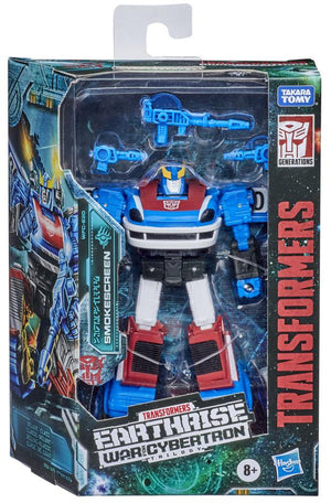 Transformers Earthrise War For Cybertron 6 Inch Action Figure Deluxe Class (2020 Wave 2) - Smokescreen