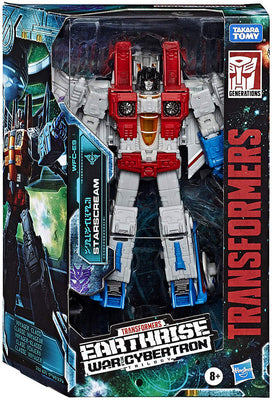 Transformers Earthrise War For Cybertron 7 Inch Action Figure Voyager Class - Starscream