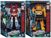 Transformers Earthrise War For Cybertron 7 Inch Action Figure Voyager Class - Set of 2 (Starscream - Grapple)