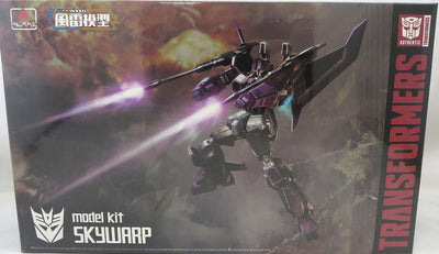 Transformers 6 Inch Action Figure Furai Model Kit - Skywarp