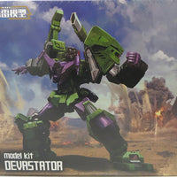 Transformers 7 Inch Action Figure Furai Model Kit - Devastator
