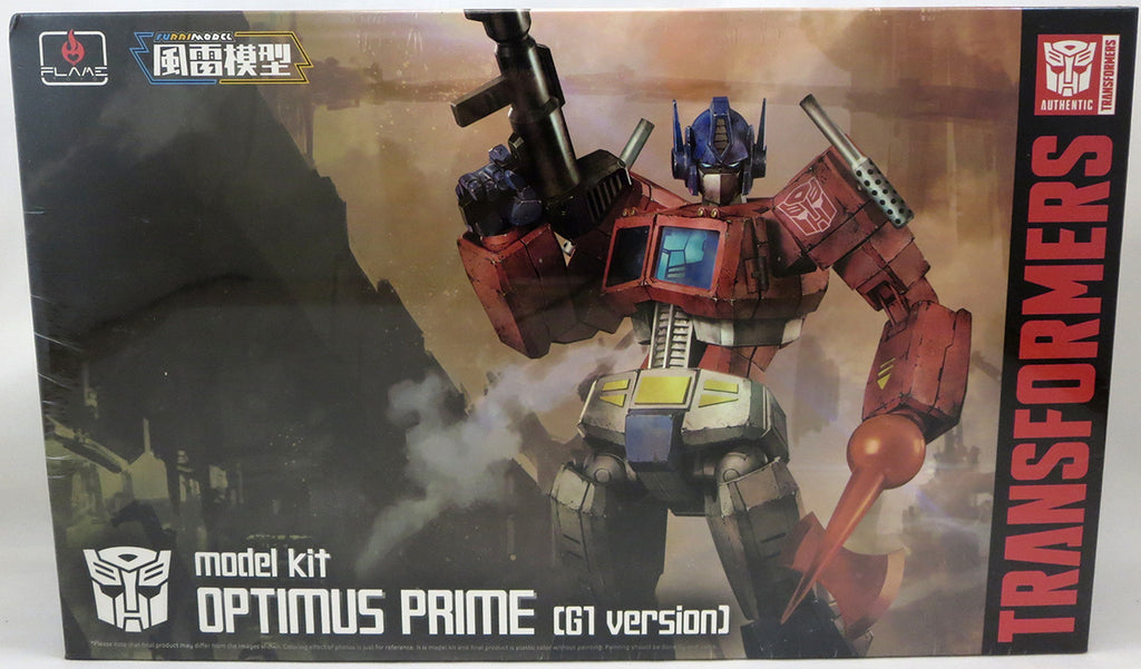Transformers Furai 6 Inch Model Kit Model Kit - Optimus G1 Version