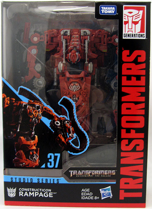 Transformers Movie Studio Series 7 Inch Action Figure Voyager Class - Constructicon Rampage #37