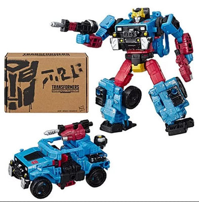 Transformers Selects War for Cybertron 6 Inch Action Figure Deluxe Class - Hot Shot Exclusive