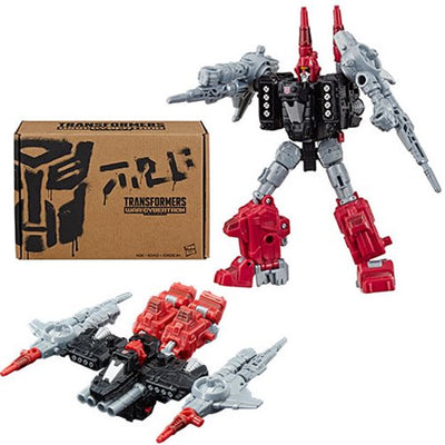 Transformers Selects War for Cybertron 6 Inch Action Figure Deluxe Class - Powerdasher Cromar Exclusive