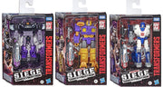 Transformers Siege War For Cybertron 6 Inch Action Figure Deluxe Class - Set of 3 (Barricade - Impactor - Mirage)