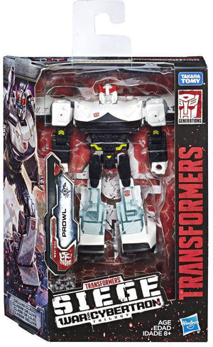Transformers Siege War For Cybertron 6 Inch Action Figure Deluxe Class - Prowl