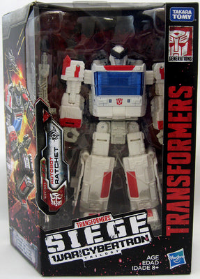 Transformers Siege War For Cybertron 6 Inch Action Figure Deluxe Class - Ratchet Exclusive