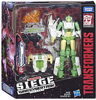 Transformers Siege War For Cybertron 6 Inch Action Figure Deuxe Class - Greenlight & Dazlestrike Exclusive
