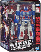 Transformers Siege War For Cybertron 8 Inch Action Figure Leader Class - Ultra Magnus (Shelf Wear Packaging)