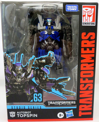 Transformers Studio Series 6 Inch Action Figure Deluxe Class (2020 Wave 3) - Top Spin #63