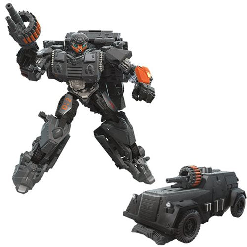 Transformers Studio Series 6 Inch Action Figure Deluxe Class - WWII Hot Rod