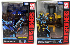 Transformers Studio Series 6 Inch Action Figure Deluxe Class - Set of 2 (Dropkick - Hightower)