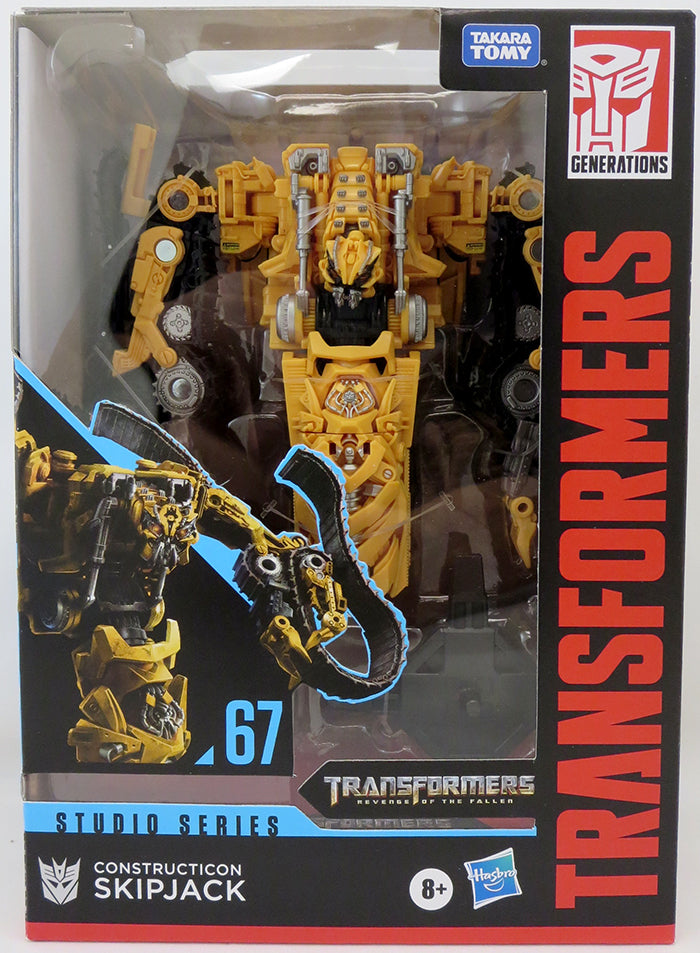 Transformers Studio Series 7 Inch Action Figure Voyager Class (2020 Wave 3) - Skipjack #67