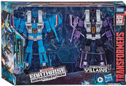 Transformers War For Cybertron Earthrise 7 Inch Action Figure Voyager Class Exclusive - Skywarp and Thundercracker