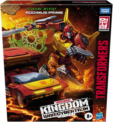 Transformers War For Cybertron Kingdom 8 Inch Action Figure Commander Class - Rodimus Prime