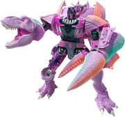 Transformers War For Cybertron Kingdom 8 Inch Action Figure Leader Class Wave 1 - T-Rex Megatron (Beast) WFC-K10