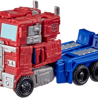 Transformers War For Cybertron Kingdom 3.5 Inch Action Figure Legends Class Wave 1 - Optimus Prime WFC-K1