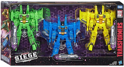 Transformers War For Cybertron Siege 7 Inch Action Figure Voyager Class Exclusive - Seekers Pack
