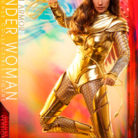 Wonder Woman 1984 12 Inch Action Figure 1/6 Scale Series - Golden Armor Wonder Woman (Deluxe) Sideshow 906348