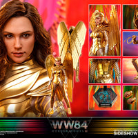 Wonder Woman 1984 12 Inch Action Figure 1/6 Scale Series - Golden Armor Wonder Woman Hot Toys 906458