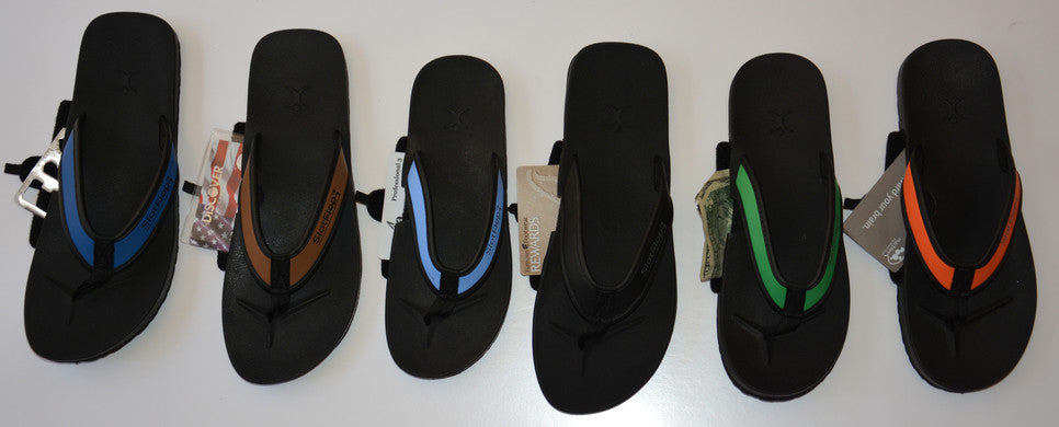 053086742674 Stash your valuables in flip flops with comfortable arch support