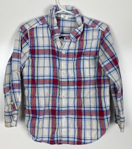 Baby Gap soft plaid shirt size 3