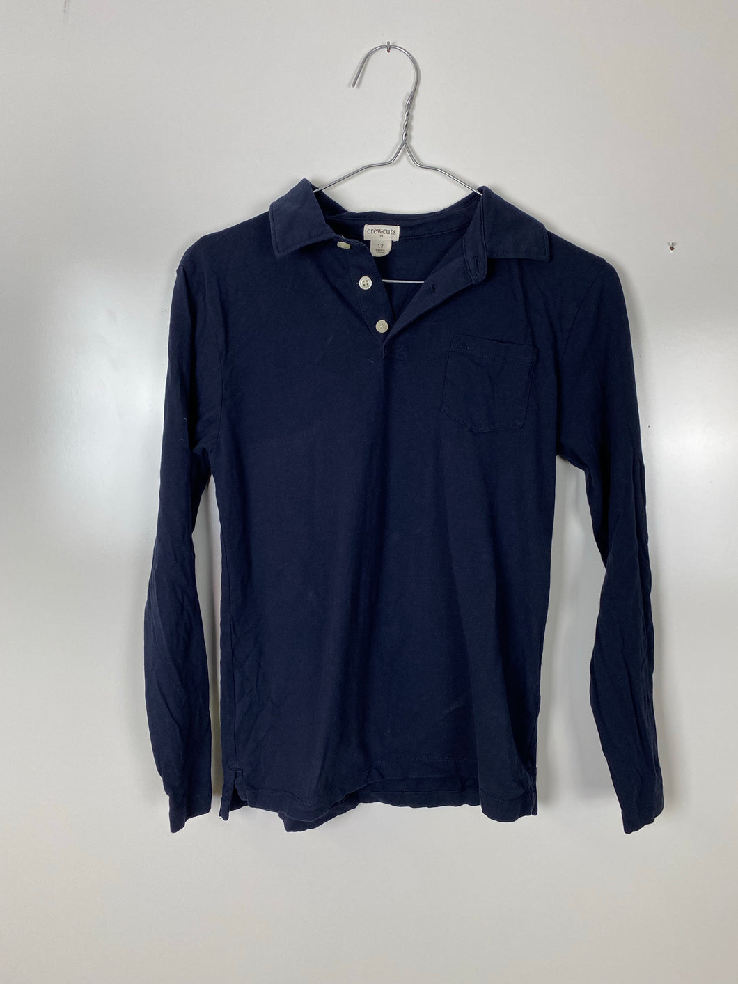 Crewcuts soft polo size 12