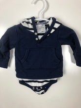 Load image into Gallery viewer, Two Feet Ahead hoodie size Newborn