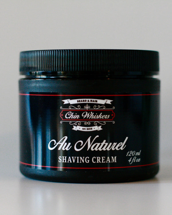 Shaving Cream - Au Naturel