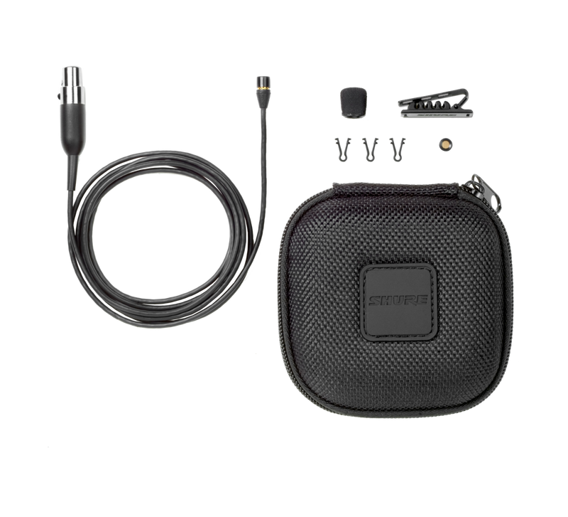 Omnidirectional. subminiature condenser Lavalier microphone