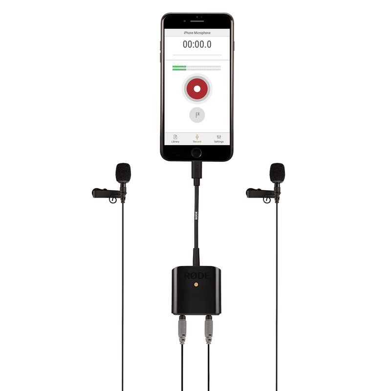 Dual TRRS input and headphone output for Apple Devices