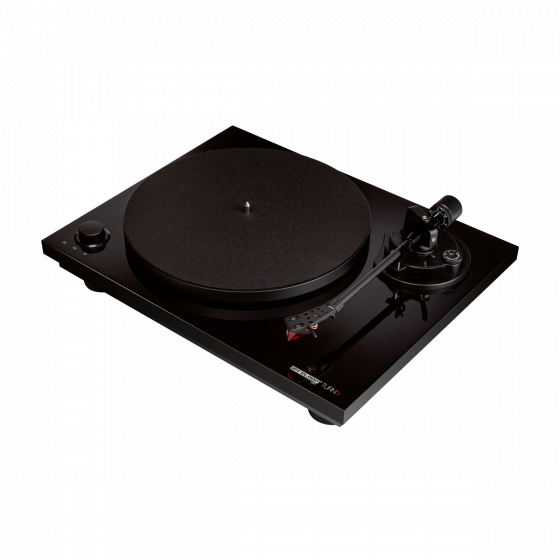 Hi-Fi Turntable with S shaped