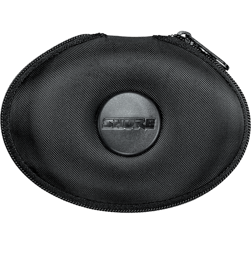 Oval fine Weave Zippered Carrying Case