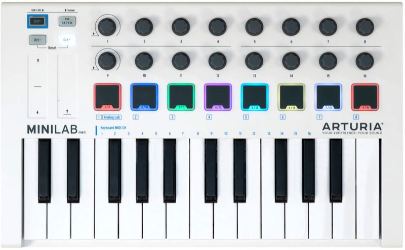 25 Notes Midi controler keyboard